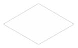 B, Diamond 35x20.2