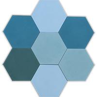 Patchwork lagoon hexa