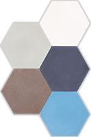 Patchwork hexa kleurmix